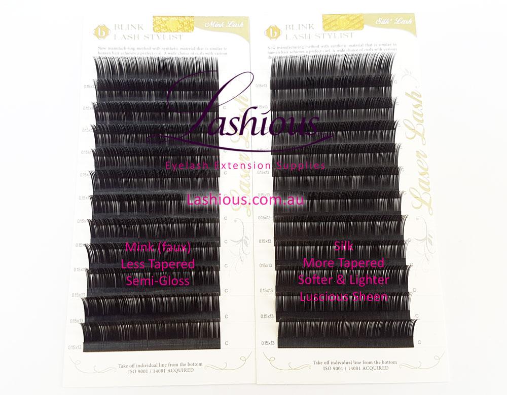 Mink & Silk Laser Lash Comparison