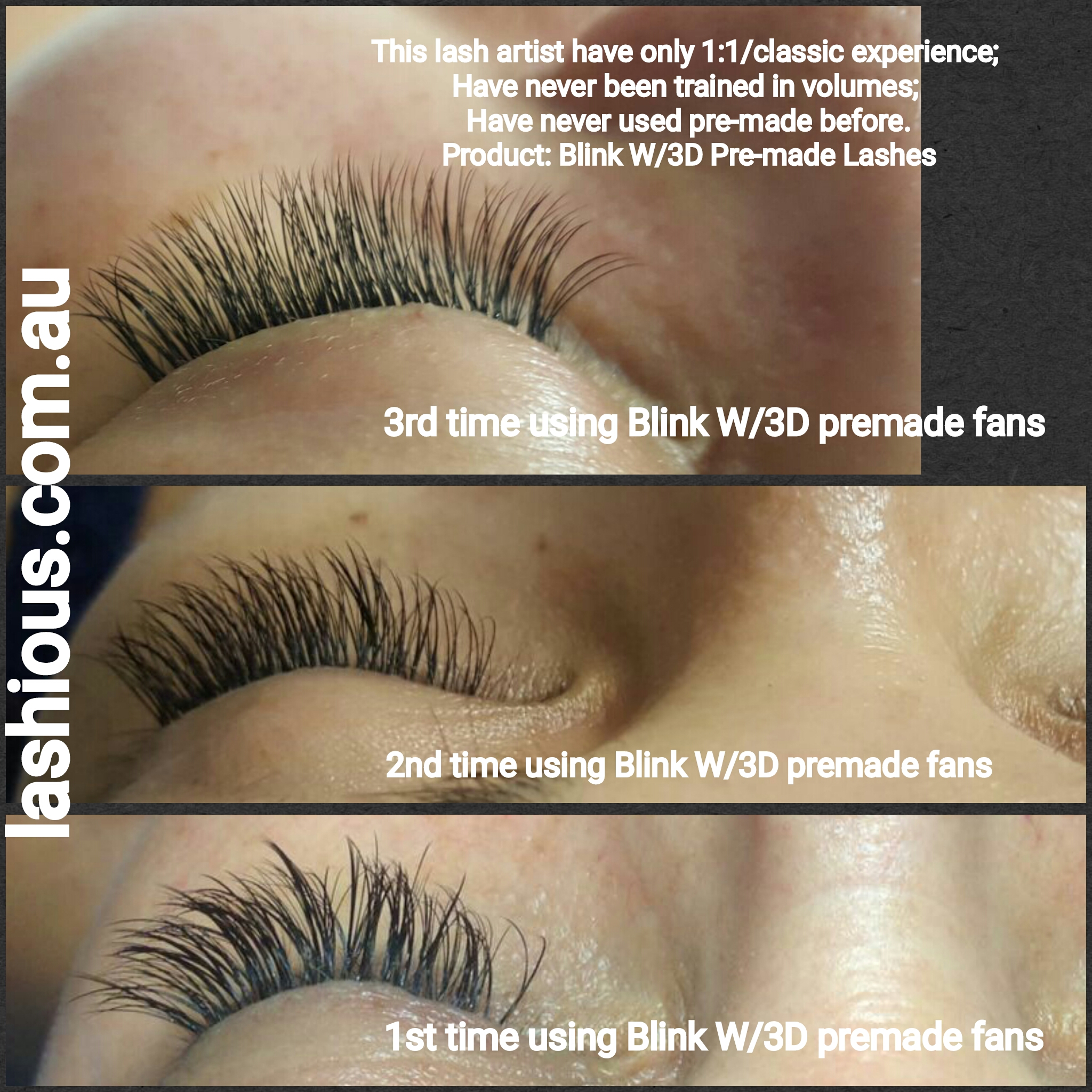 20 Off Blink Lash 3d W Premade Unglued Volume Fans Lashious