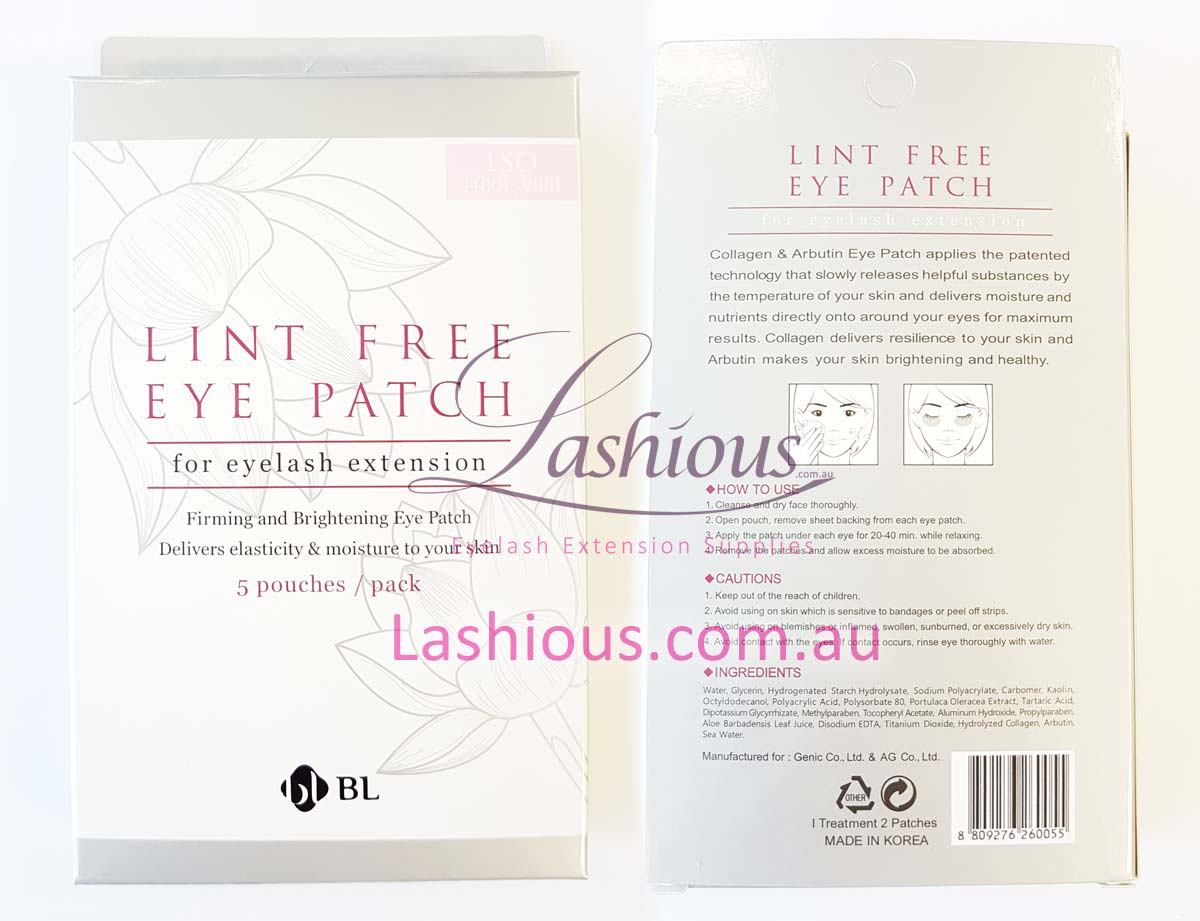 Blink Lash Lint-Free Eyepads For Eyelash Extensions
