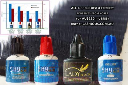 4 of the Best Eyelash Adhesives