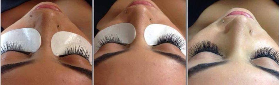 eyelash application procedures