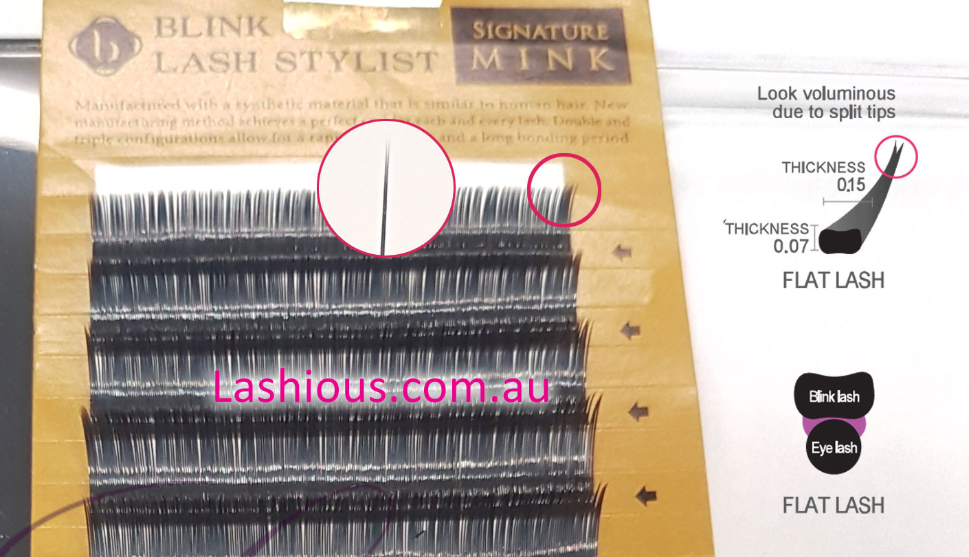 26dbf656d45 **New V2 Flat Lash from Blink Lash Stylist. Ellipse Lash - Lashious  Australia