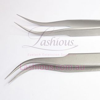 Type B Hook Tweezers - Volume, Classic, and Isolation Tweezers