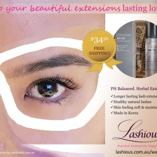 BL Cleansing Water - use for longer lasting eyelash extensions and healthier natural lashes.
