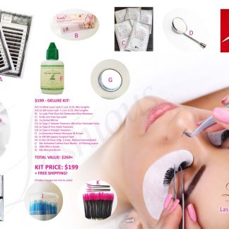 Deluxe Eyelash Extensions Kit